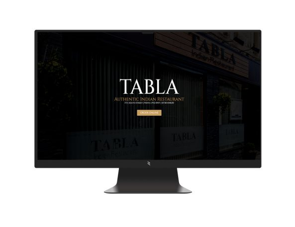 Black iMAC Mockup TABLA RESTAURANT e1611978751750